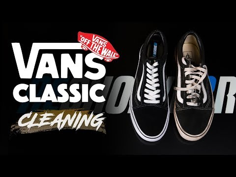 The best way to clean classic Vans with Reshoevn8r!!