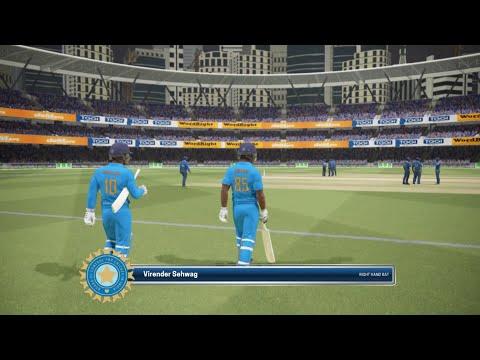 2011 World Cup Final India vs Sri Lanka Highlights  Ashes Cricket Gameplay