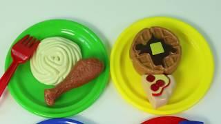 Cocina de Juguete Para Niñas y Comidita Falsa Kitchen Toy Playset Mundo de Juguetes thumbnail