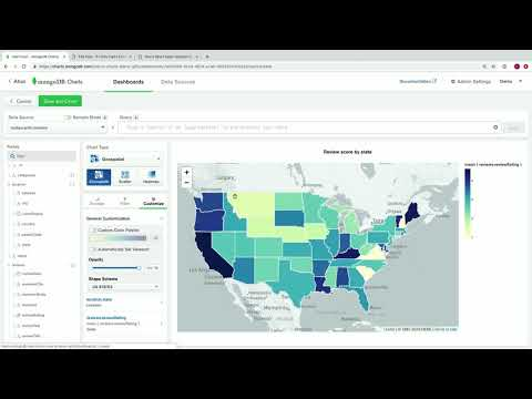 MongoDB Charts: the easiest way to visualize document data (MongoDB World Keynote, part 5)