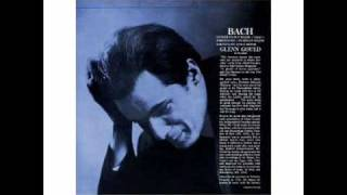 Glenn Gould - Bach Italian Concerto in F Major, BWV 971, 2nd Mvt