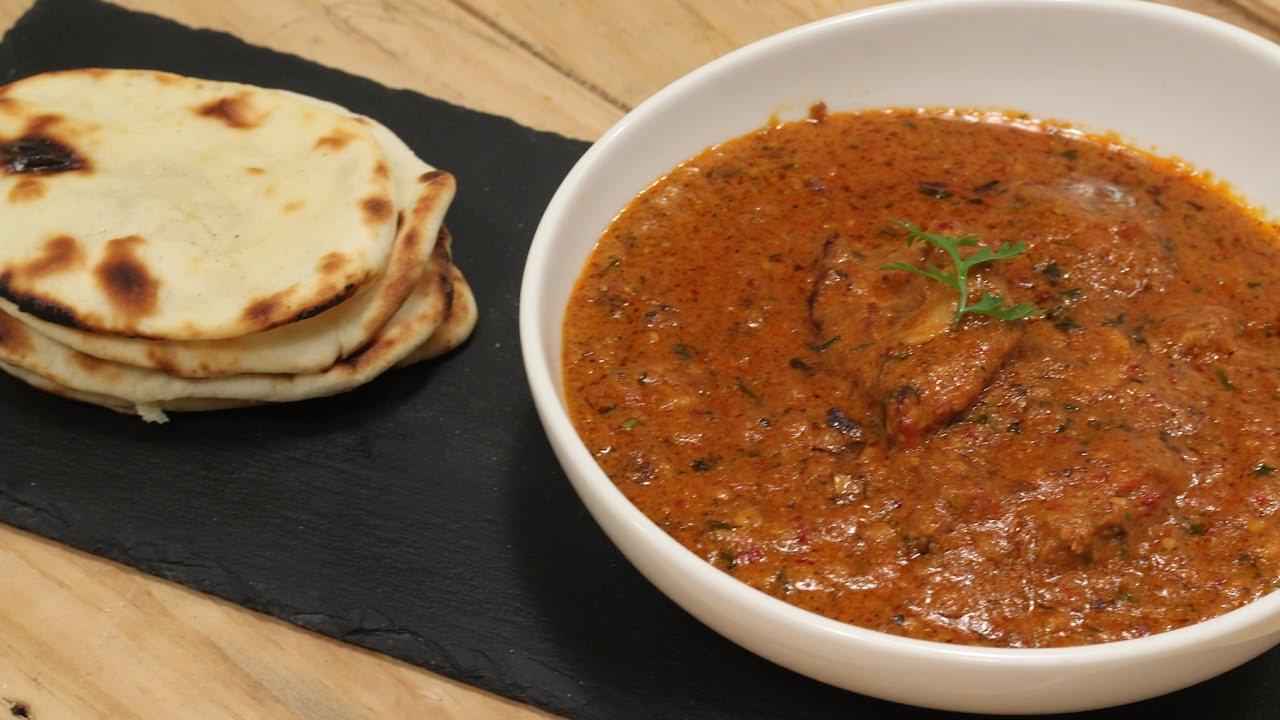 Chicken Tikka Masala And Butter Naan Majha Kitchen Sanjeev Kapoor Khazana Youtube