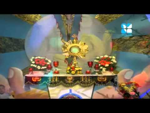 adoration of holy eucharist. Aaradhana