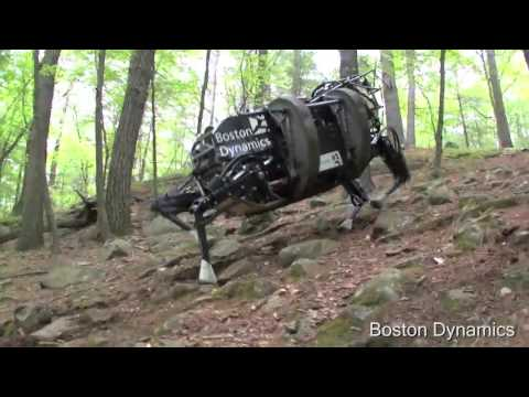 Running Horse Boston Dynamics Robot