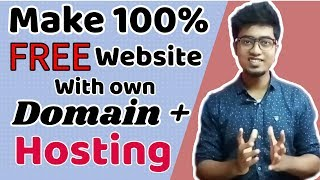 Learn How to build a website with own domain 100% FREE |Website building tutorial|
