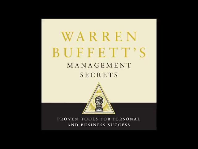 Warren Buffett's Management Secrets Audiobook