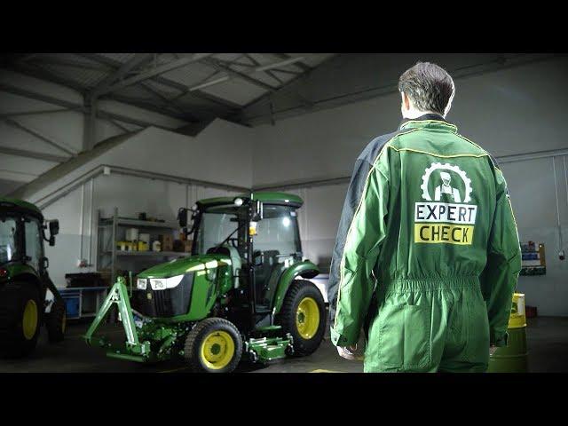 John Deere - Expert Check für Rasenpflegemaschinen