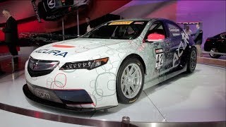 Acura TLX GT Race Car 2015 Videos