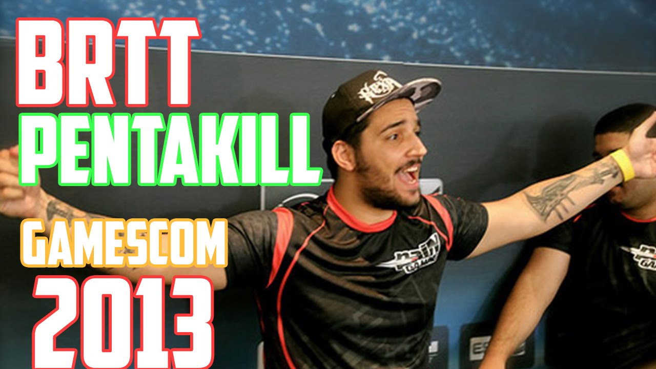 League of Legends Pentakill BrTT - Gamescom 2013 - YouTube