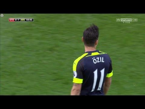 Mesut Özil vs Stoke City (Away) 16-17 HD 720p [EPL]