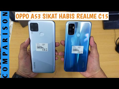 Realme C15 vs Oppo A53 | Check out the Comparison of the Specifications!.