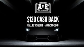$120 Cash Back With Windshield Replacement