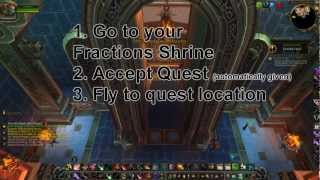 How to get to the Isle of Thunder (WoW 5.2 Patch)