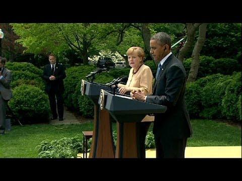 Obama et Merkel veulent contraindre Poutine sur l'Ukraine