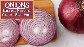 Onions and Their Beneficial Properies | Yellow, Red & White