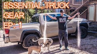 Essential Truck Gear - Episode 1 - Mods, Gear, Accessories (2016 Tacoma)