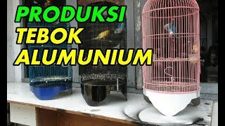 BIKIN SENDIRI TEBOK ALUMUNIUM KANDANG BURUNG LOVEBIRD