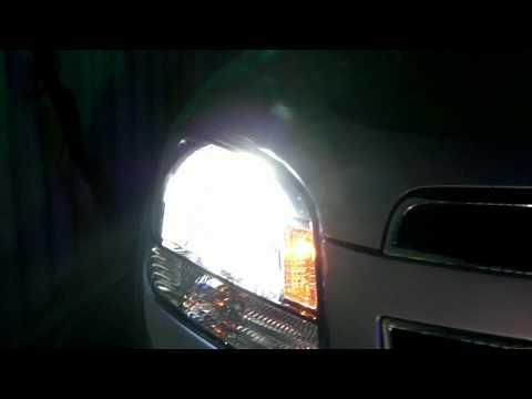 Установка ксенона в Chevrolet Orlando