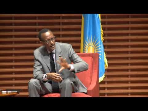 President Kagame speaks at Stanford Global Speaker Series- San Francisco, 25 April 2014