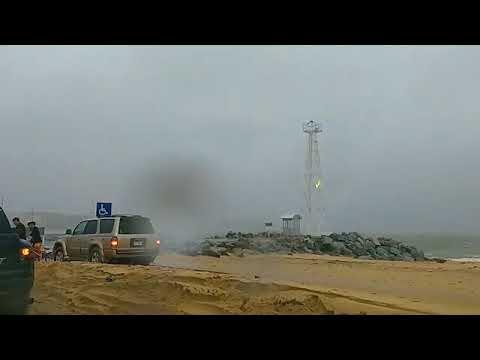 Tormenta Tropical Lidia 1 de septiembre 2017 en las calles de Cabo San Lucas