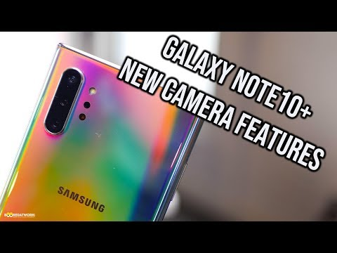 Galaxy Note 10 Plus NEW Camera Features!
