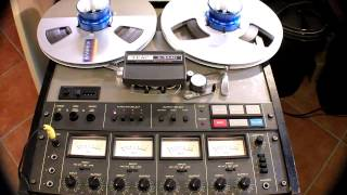 Tape Echo Effect with Reel to Reel Tape Recorder
