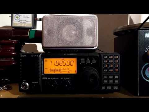 China Radio International - CRI English 11885KHz of Xian, China - 12JAN2017 00:39 utc