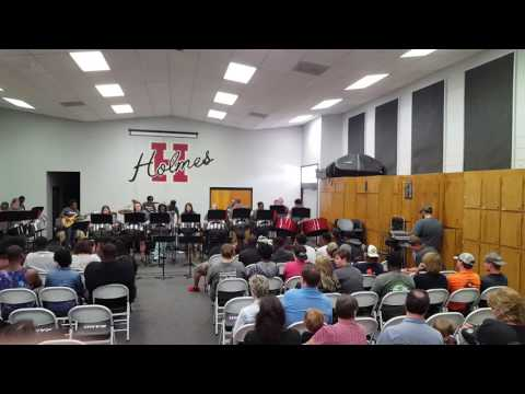 Holmes Community College Steel Band, Ride