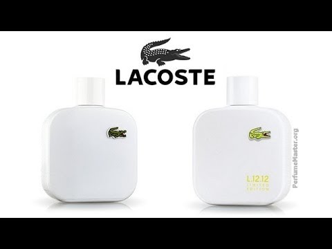cb74295fc9e9 Lacoste - L.12.12 Blanc Limited Edition 2014 Fragrance - YouTube