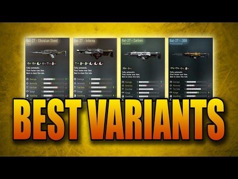 Best Weapon Variants in Advanced Warfare: Bal-27 (Obsidian Steed, Inferno, more!)