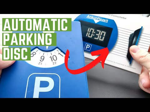 Electronic Parking Disc Installation - Needit PARK LITE How To