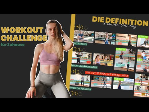 Workout Challenge für Zuhause | Home Workout Trainingsplan - DIE DEFINITION 1