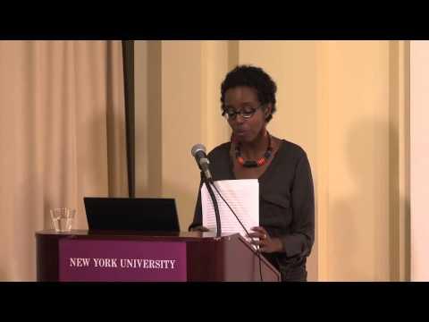 Igiaba Scego at New York University