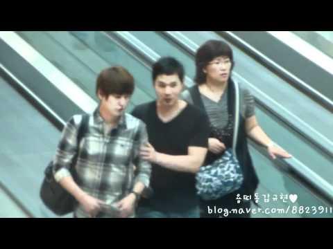 [용띠동갑규현] 2011.06.15 Kyuhyun at INC Airport (go to Thailand)