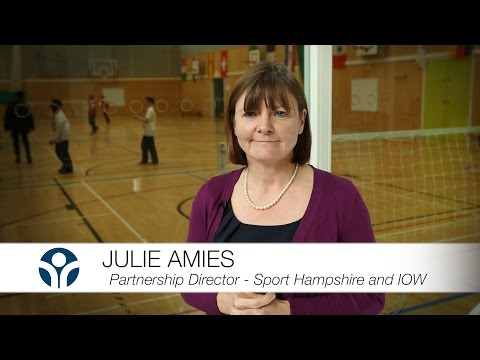 Use Our School - Julie Amies - Partnership Director Sport Hampshire & IOW