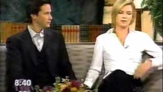 Keanu Reeves and Charlize Theron - Sweet November Interview 2001