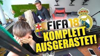 Komplett AUSGERASTET - FIFA 18 im UFO