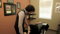 Chiropractic Adjustment For Low Back Pain by Dr. Lombardi Hamilton Back Clinic