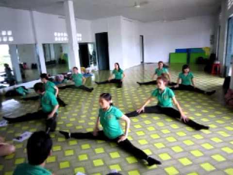 Lớp hướng dẫn viên aerobic mầm non (nhóm 1)