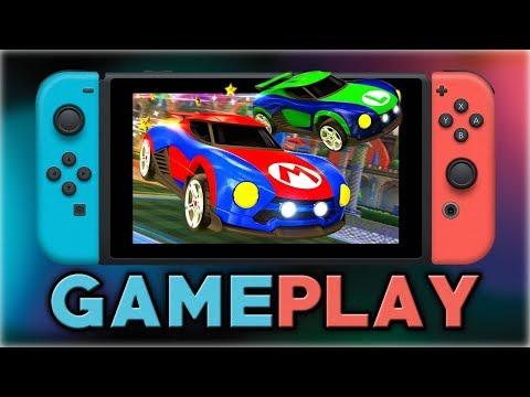 Rocket League   Mario & Luigi Battle-Cars Gameplay   Nintendo Switch
