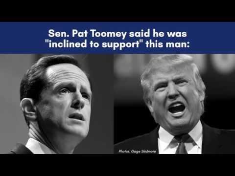 Pat Toomey & Donald Trump