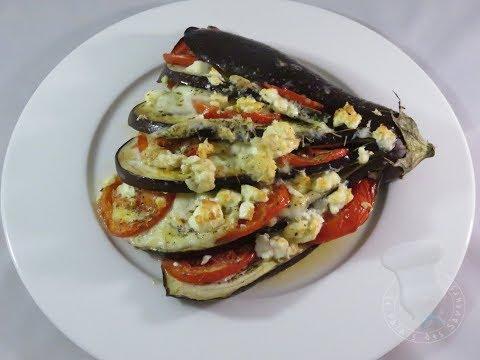 recette-d'aubergine-en-éventail-à-la-mozzarella