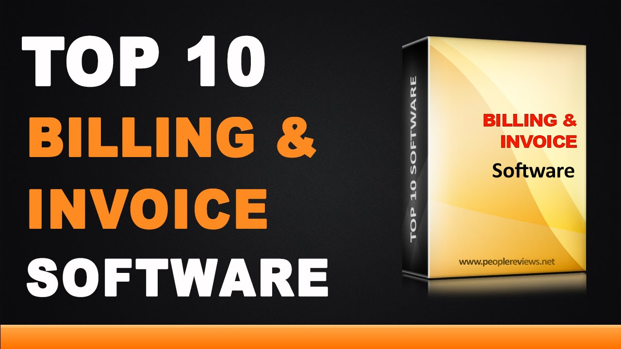 Best Billing And Invoice Software Top List YouTube - Invoice asap for windows