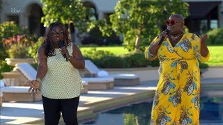 The X Factor UK 2018 Panda & Burgandy Judges' Houses Full Clip S15E13