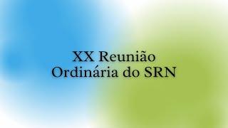 Culto de Abertura da XX Reunião Ordinária do SRN (Ao vivo) - 09/07/2021