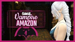 The Sims 4 Vampire Amazon (Gen1, Ep1): Queen Sheeba Salizar