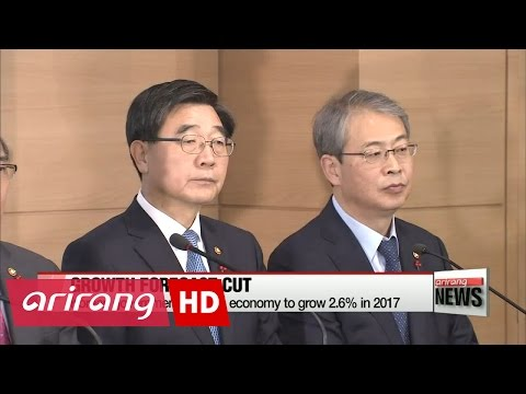 Korean government slashes growth forecast for 2017