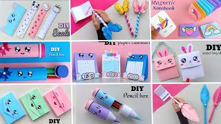 11 EASY CRAFT IDEAS | School Craft Idea/ DIY Craft/ School hacks/ Origami craft/paper mini gift idea