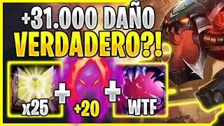 😱¡TODOS HUYEN AL VER +31.000 DE DAÑO VERDADERO CON CHOGATH! *LO MÁS ASQUEROSO*