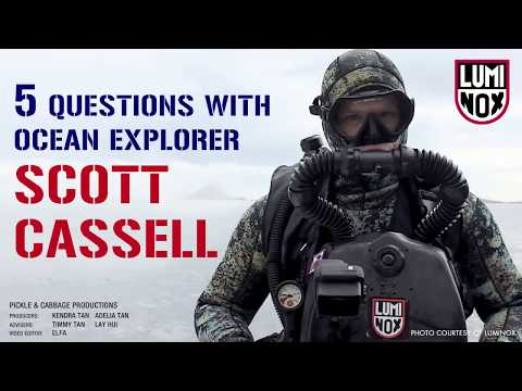 5 Questions with Ocean Explorer Scott Cassell